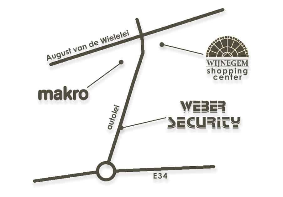 Weber Security Wommelgem kaartje