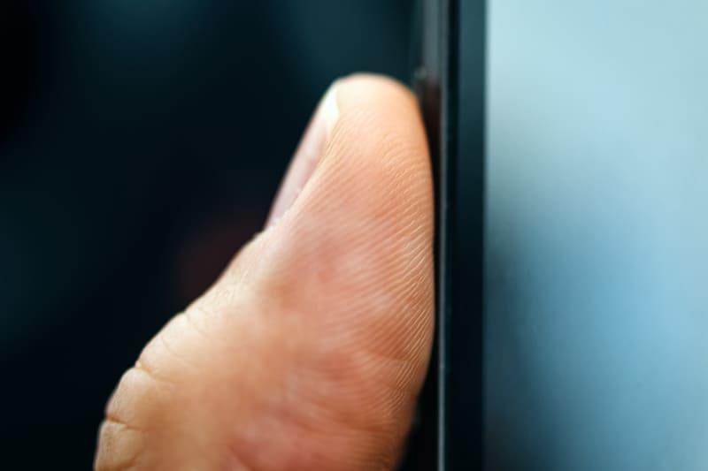 Toegangscontrole met vingerafdruk