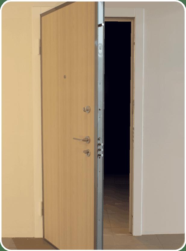 Veiligheidsdeuren appartementen met brandwerend materiaal